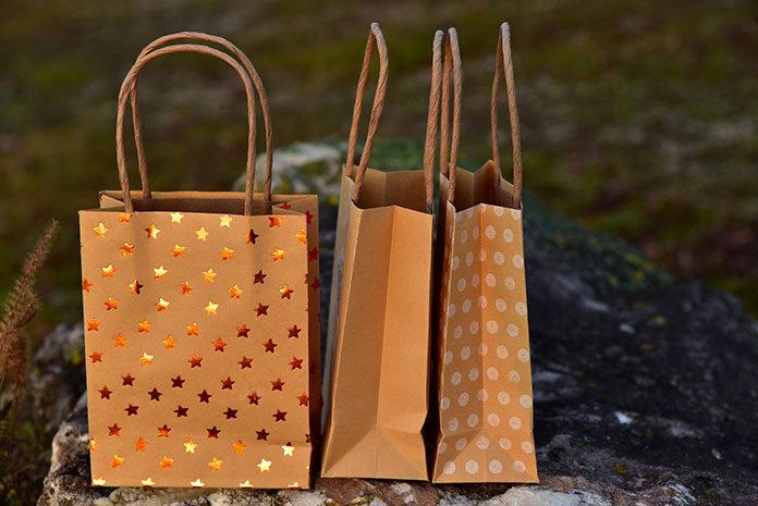 papierowe torebki ozdobne